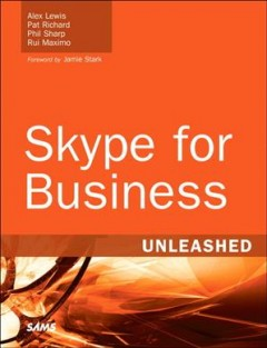 Skype for business unleashed cover image