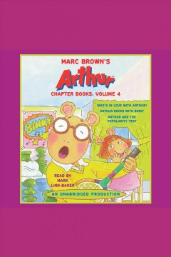 Marc Brown's Arthur chapter books: Volume 4 cover image