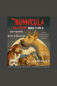 Bunnicula collection, The: Books 4-5 cover image