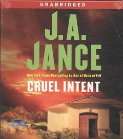 Cruel intent a novel of suspense cover image