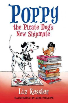 Poppy the pirate dog's new shipmate cover image