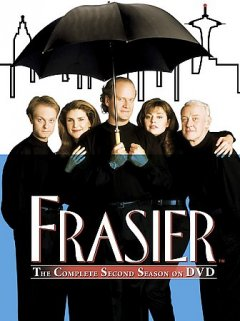 Frasier. Season 2 cover image