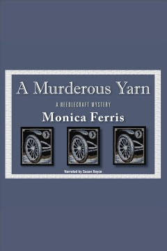 A murderous yarn cover image