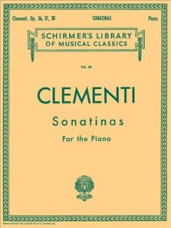 Sonatinas op. 36, 37, 38 cover image