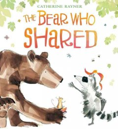 The bear who shared cover image