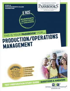 Production/operations management : a systemic approach cover image