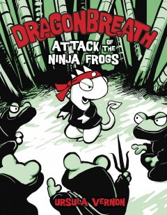 Attack of the Ninja frogs cover image