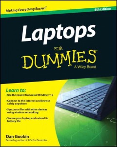 Laptops for Dummies cover image