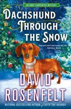 Dachshund through the snow cover image