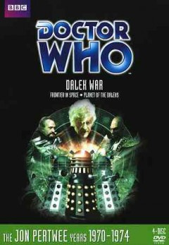 Doctor Who. Story 67, 68, Dalek war Frontier in space ; Planet of the Daleks cover image