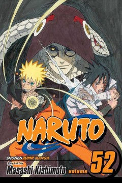 Naruto.   52,   Cell seven reunion cover image