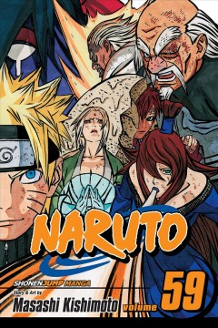 Naruto.  59,  The five kage cover image