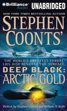 Stephen Coonts' Deep black--arctic gold cover image