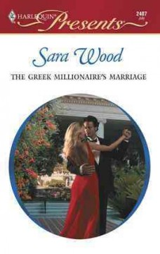 The Greek millionaire's marriage cover image