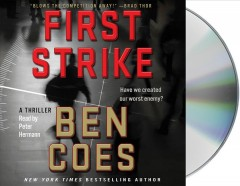 First strike a thriller cover image