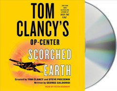 Tom Clancy's Op-center scorched earth cover image
