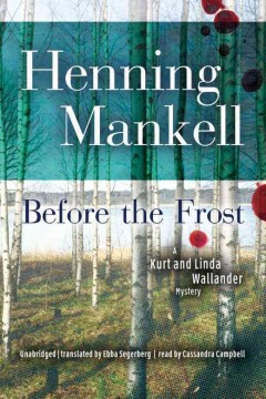 Before the frost cover image
