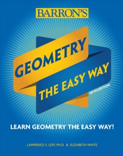 Geometry : the easy way cover image