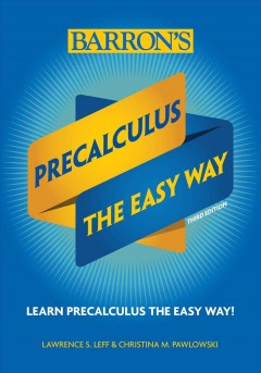 Precalculus the easy way cover image
