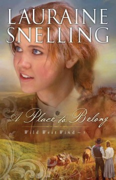 Place to Belong, A (Wild West Wind Book #3) cover image