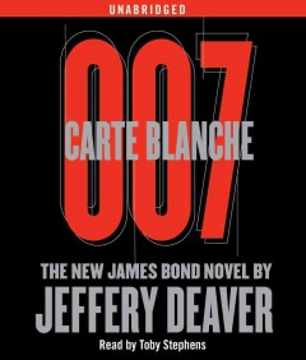 Carte blanche 007 a new James Bond novel cover image