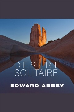 Desert solitaire a season in the wilderness cover image