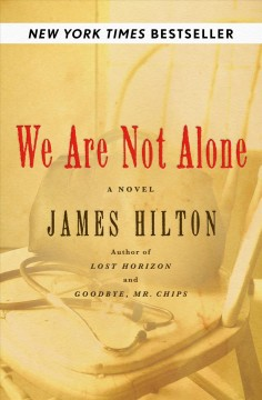 We are not alone cover image