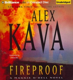 Fireproof a Maggie O'Dell novel cover image
