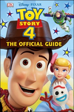 Toy story 4 : the official guide cover image