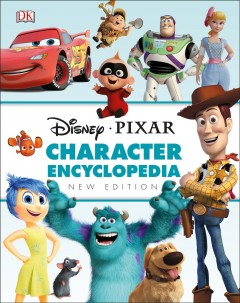 Disney Pixar character encyclopedia cover image