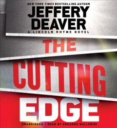 The cutting edge a Lincoln Rhyme novel cover image