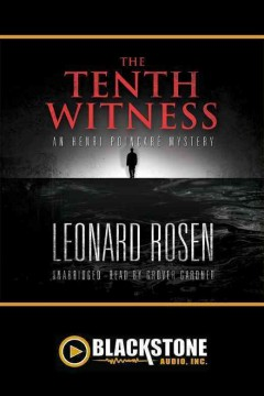 The tenth witness an Henri Poincaré mystery cover image