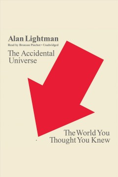 The accidental universe the world you thought you knew cover image