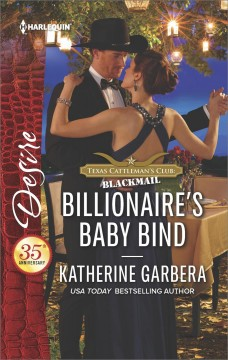 Billionaire's baby bind cover image