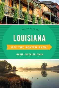 Off the beaten path. Louisiana cover image