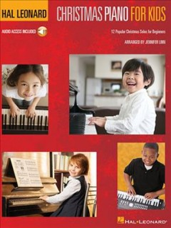 Christmas piano for kids : 12 popular Christmas solos for beginners cover image