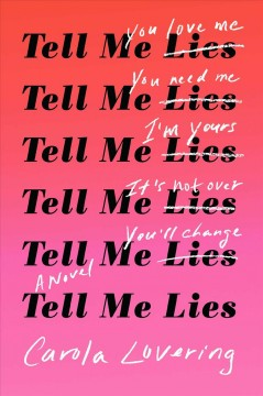 Tell me lies : a novel cover image