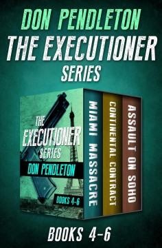 The executioner series. Books 4-6 cover image