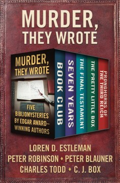 Murder, they wrote : five bibliomysteries by Edgar Award-winning authors cover image