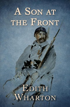 A son at the front cover image