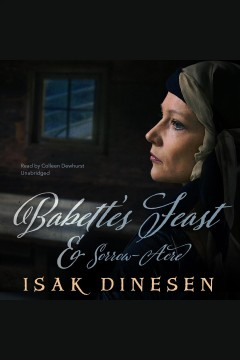 """babette's feast"" and ""sorrow-acre"" cover image"