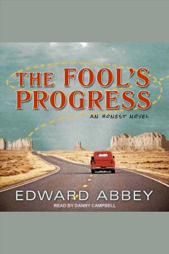 The fool's progress : an honest novel cover image