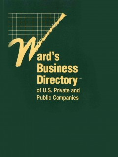 Ward's business directory of U.S. private and public companies cover image