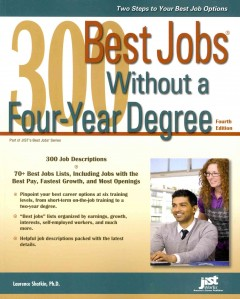 300 best jobs without a four-year degree cover image