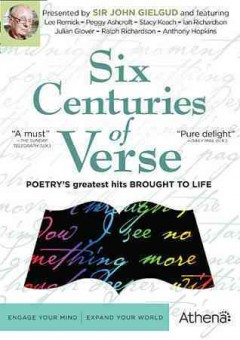 Six centuries of verse cover image