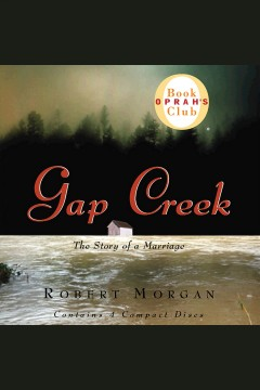 Gap Creek : the story of a marriage cover image