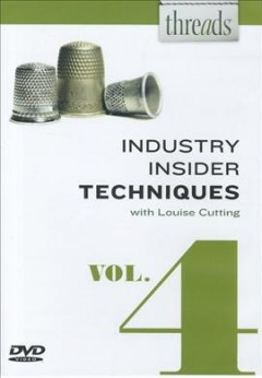 Threads industry insider techniques. Volume 4 cover image