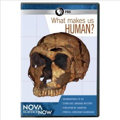 What makes us human? cover image