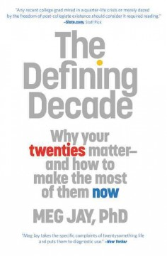 The defining decade cover image