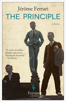 The principle : a novel cover image